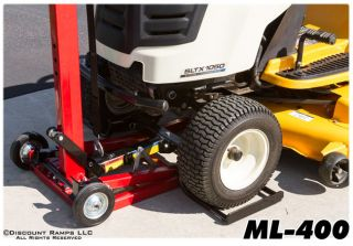Lawn Mower Garden Tractor Service Jack Lift Hoist Like Mojack 400 lb