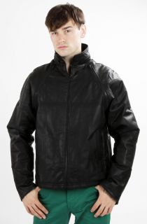 Mens Trendy Genuine Leather Jacket Vest Black Brown