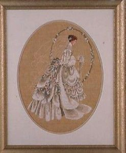 The Bride Counted Cross Stitch Marilyn Leavitt Imblum Pattern