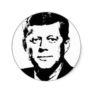 John Kennedy Gear Round Sickers
