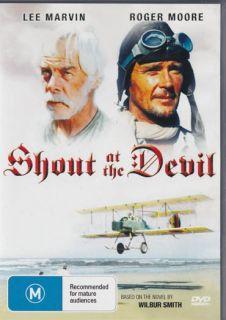 Shout at The Devil Lee Marvin Roger Moore New SEALED DVD