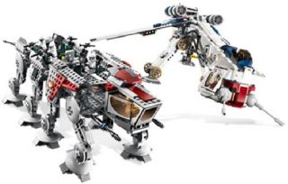 Lego Star Wars Republic Dropship with at OT Walker 10