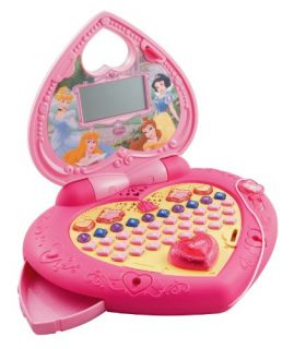 Features of VTech   Disney Princess   Magical Learning Laptop