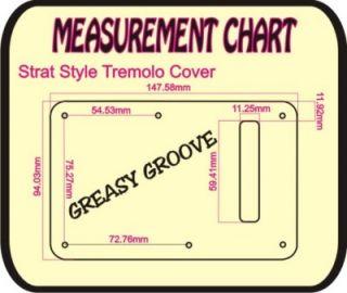 Tremolo Cover 4 Fender Stratocaster Guitar Black AC New