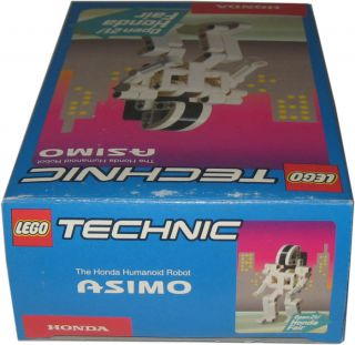 2001 LEGO #1237 ASIMO HUMANOID ROBOT JAPANESE HONDA FAIR EXCLUSIVE MIB