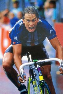 Greg Lemond Poster 1989 World Championships Chambery