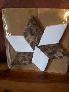 Lemoyne Animal Print Quilting Kit 30 Blocks Quilt Top
