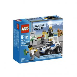 New and SEALED Lego City Police Minifigure Collection 7279