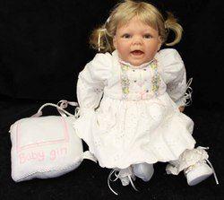 20 Lee Middleton 1997 Original Baby Doll by Reva Schick 050897