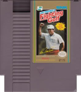 Lee Trevinos Fighting Golf NES Nintendo Game