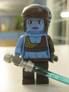 Lego Star Wars Aayla Secura Set 8098 100 Complete