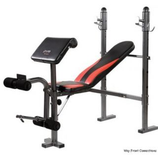 Bench Press Home Gym Lifting Weight Exercise Equipment Leg Curl