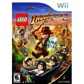 Lego Indiana JONES2 Adventure Continues Wii Video Game