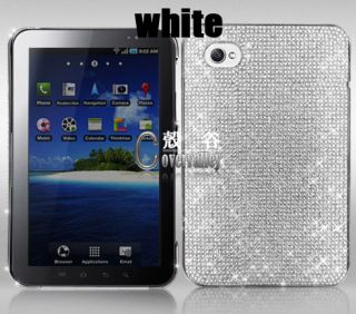 Bling Crystal Lized Rhinestone Samsung Galaxy Tab 7 P1000 Case Cover