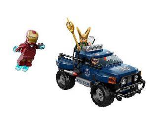 2012 LEGO 6867 LOKIS COSMIC CUBE ESCAPE, MARVEL AVENGERS SUPER HEROES