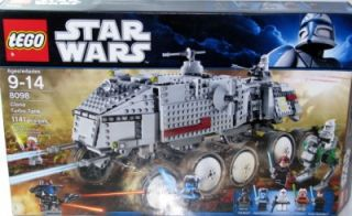 Lego Star Wars Clone Turbo Tank 8098 New