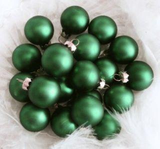 12 Lemony Chartreuse Glass Ball Feather Tree Christmas Ornaments