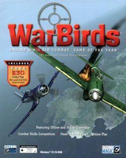 War Birds World War II Air Combat PC Games Windows 95 98 New in Box