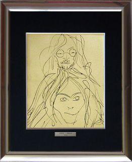 John Lennon Yoko Ono Nude Erotic Lithograph Fine Art 3