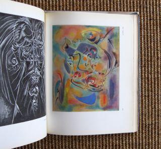 Vintage 1947 art monograph on Surrealist painter Andre Masson w/ cool