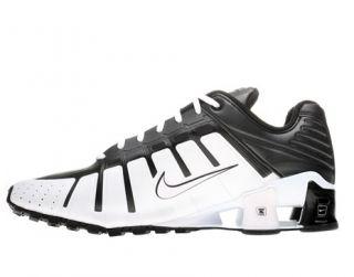 Nike Shox OLeven Mens Running Shoes Black White Size 12 US EUR 46