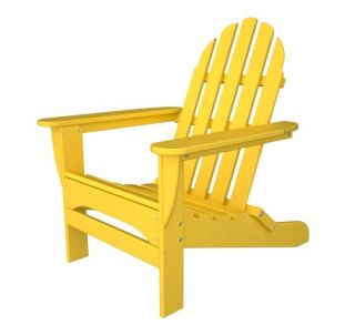Recycled Plastic Adirondack Chair Polywood Retro Colors