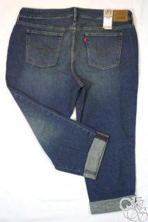 Levis Jeans Boyfriend Fit Capri Plus Size Pants