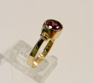 Estate 14k Yellow Gold Ed Levin 1 25cttw Oval Cut Amethyst Designer