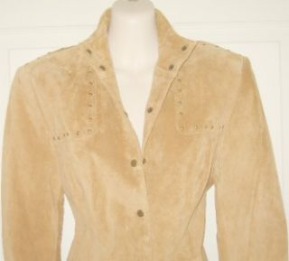 Jerry Lewis Classic Luxuries Sz s 100 Genuine Leather Long Sleeve