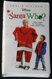 Walt Disney Santa Who VHS Leslie Nielsen Comedy