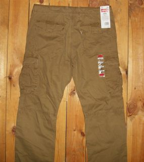 Levis Mens Slim Fit Cargo Pants Cougar 0005