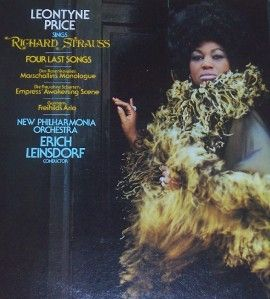 1974 Leontyne Price Sings Richard Strauss Classical LP