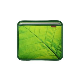 Green Leaf iPad sleeve