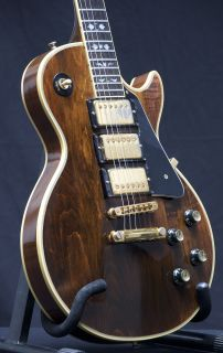 RARE Gibson Les Paul Custom Artisan Guitar Walnut 3 Pickup Stunning