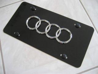 Audi License Plate Frame Fits TT A3 A4 A5 A6 A8 Q7 s Q5