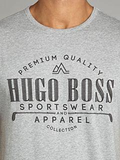 Hugo Boss Chest logo front T shirt Navy