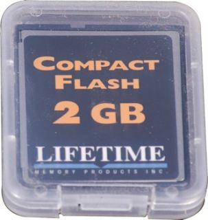 Lifetime Memory CompactFlash Card 2 GB Compact Flash Type I Card 2GB