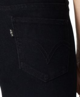 Levis 535 Legging Super Skinny Jeans Black as Night