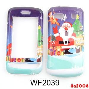For LG Xenon GR500 ATT Cell Phone Christmas Santa Claus Case Cover