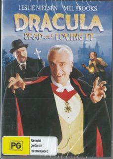 Dracula Dead and Loving It Leslie Nielsen Mel Brooks New SEALED DVD