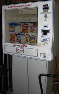 Vending Machine Liberty 3000 Multi Priced Snack Candy Nut Chip Cookie