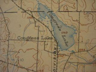 Massillon Electric Rrailroad Map STARK COUNTY Ohio Congress Lake