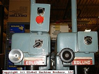 Elund Two Spindle Drill Press 220 Volt