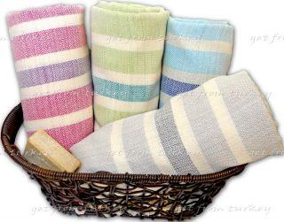 High Quality Cotton Turkish Bath Hamam Spa Beach Yacht Towel Hammam