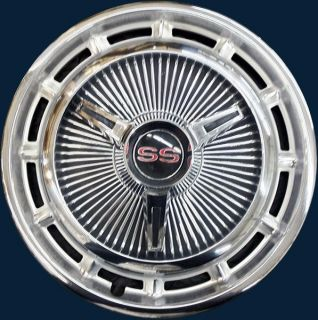 Chevy II Nova SS / 68 69 Camaro SS 14 3018 3 Bar Hubcap Wheel Cover