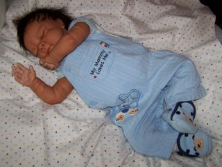 Ethnic Newborn Baby Boy Doll Lifelike Anatomically Correct TP