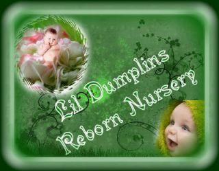 Reborn Newborn Baby Sydney Pigott by Lil Dumplins Nursery