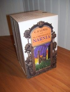 The Chronicles of Narnia C s Lewis Complete Boxed Set Vintage