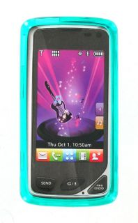 Verizon LG Chocolate Touch VX8575 High Gloss Silicone Case Turquoise