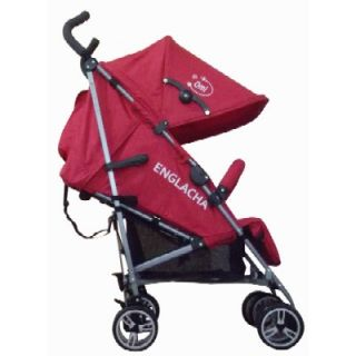 Englacha Omi Lightweight Baby Stroller Red Travel / Folding 3 Section